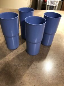 Tupperware tumblers with 1 lid