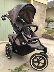 Phil and Ted's Double Inline Stroller model Sport