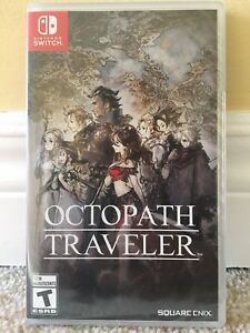 Octopath Traveler (Switch) - BRAND NEW, UNOPENED
