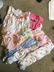 Newborn sized clothing for girl