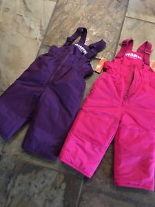 NEW with tags. Purple Size 1 and Pink size 2 Joe Fresh