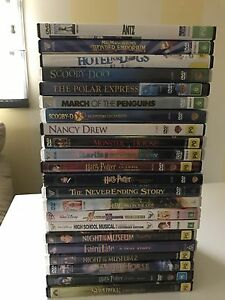 22 children's DVD's Erina Gosford Area Preview