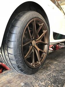 """19"""" Fast Fc04 wheels and tires. Almost brand new"""