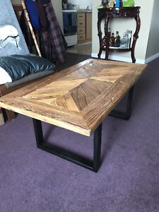 Barnboard coffee table