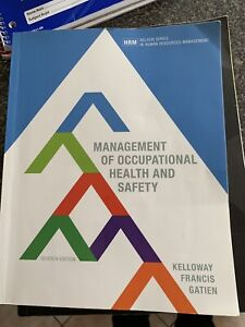 Management of Occupational Health and Safety hrm 3400