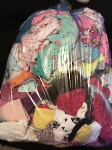Large Bag of Baby Girl Clothes