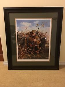 """Surprise approach "" brand new framed print"