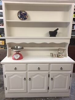 Timber Buffet Hutch Upcycled