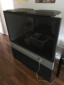 51 Inch RCA projection TV with top/bottom stands