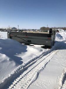 15 ft gravel box