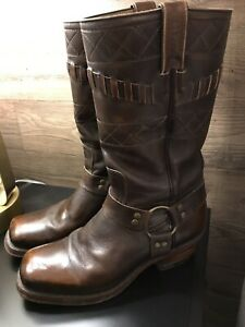 Boulet leather riding/motorcycle harness boots
