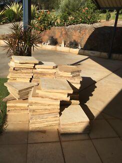 Sandstone pavers $60