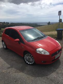 Fiat Punto T-Jet Manual  Blackwood Mitcham Area Preview