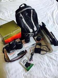 Canon EOS 600D camera + over $400 in accessories included Coogee Eastern Suburbs Preview