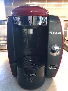Tassimo Coffee Maker RED