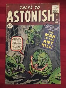 Tales to Astonish 27: 1st Ant Man! $3000 OBO