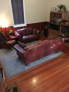 Ultra comfy lazy boy couch and love seat