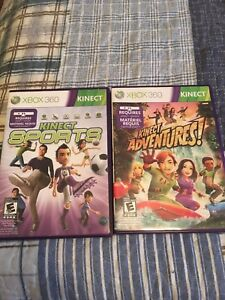 XBOX 360 Kinect Games- $ 40