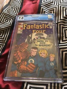 Fantastic Four 45: First Inhumans! CGC 7.0