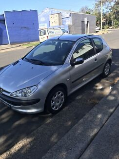 Peugeot 206 manual 2006 with rego