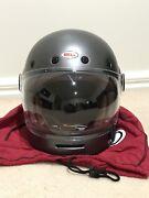 Bell bullitt matte metallic titanium retro helmet Wyndham Vale Wyndham Area Preview