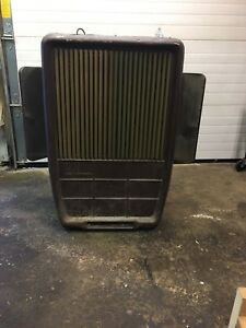 Coleman oil burning heater
