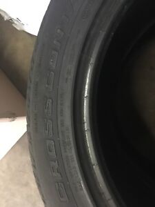 Set of 2 235/55/19 tires