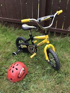 "12"" supercycle bike and helmet"