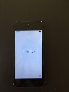 iPhone 5 64gb Space Grey