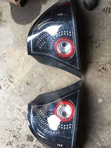 Honda Civic coupe taillights