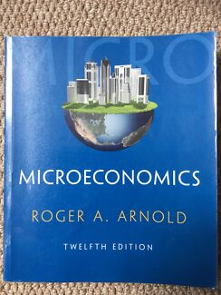Microeconomics textbook books gumtree australia free local microeconomics twelfth edition fandeluxe Image collections
