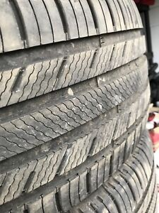 265/50/20 WINTER TIRES NEXT TO NEW!!