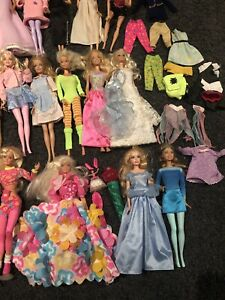 Bulk Barbies, Clothes & Accessories from the 80s/90s/2000s. $100 lot