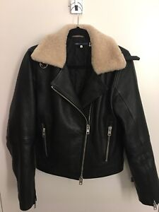 Levi's Leather Jacket with real shearling!