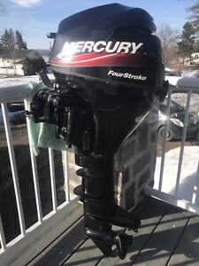 Mercury 9,9 4 temps pied long  + démarreur électrique 2005