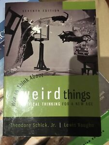 How to think about weird things 7th Edition