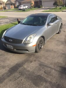 Infiniti g35 coupe trade for awd car