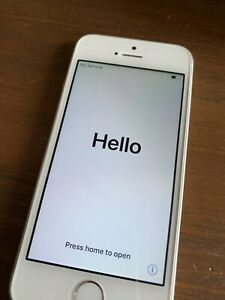 iPhone 5 SE 32 GB Silver, Bell Mobility