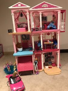 Barbie maison de rêve 3 stages de luxe-Toys r us