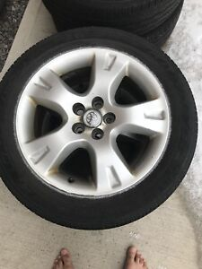 4 all season tires on the rims size P205/55R16