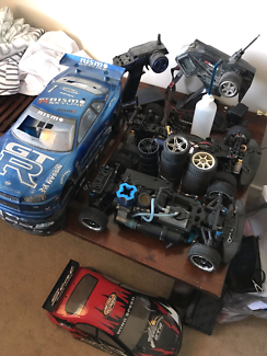 Nitro and electric R/C cars