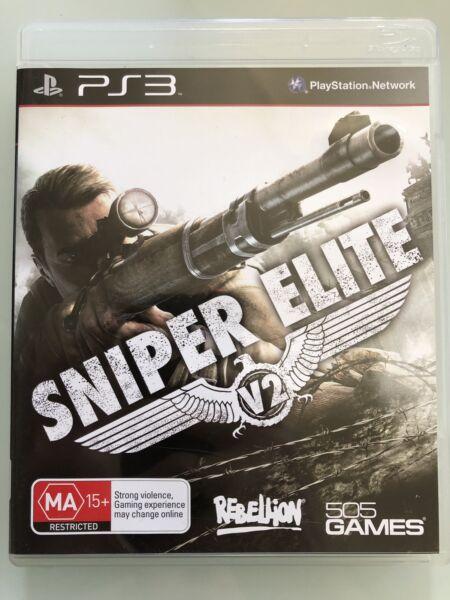 Sniper Elite Ps3 Video Games Gumtree Australia Warringah Area