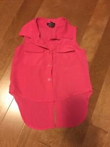 Girls 3T pink blouse