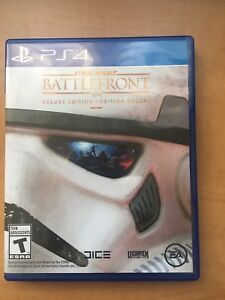 PS4 game Star Wars battlefront deluxe Edition for sale