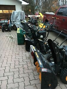 It's time! Need a snowblower?