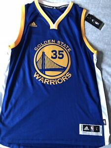 Kevin Durant Gold State Jersey Large (Authentic)