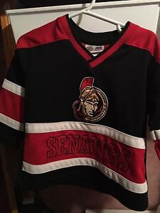 Child's 1-2 year old ottawa senators jersey
