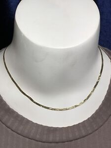 10K Gold Necklace 4.6 Grams 16.5""
