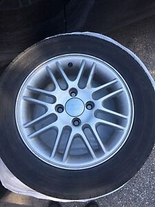 185/65R15 Ford Focus summer tires and rims