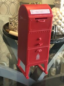 Canada Post Mailbox Red Plastic Coin Piggy Bank